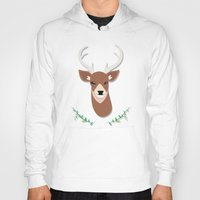 deer head Hoody
