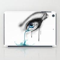 Blue Tear River. iPad Case