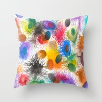 Caos Sincronizado Throw Pillow