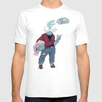 Dullahan Dame Mens Fitted Tee White SMALL