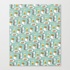 Happy breakfast! Canvas Print