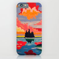 iPhone & iPod Case featuring Northern Sunset Surreal  by Morgan Ralston