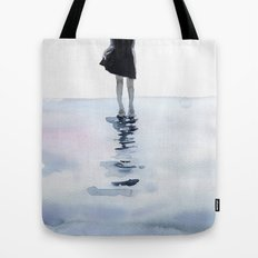 all around the sea Tote Bag