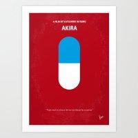 No144 My AKIRA Minimal M… Art Print