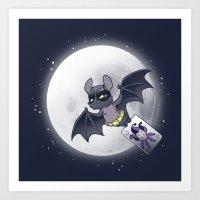 Bat Bat Art Print