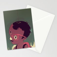 Black-water coconut Stationery Cards