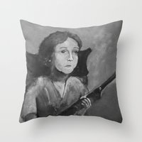 Loretta. Throw Pillow
