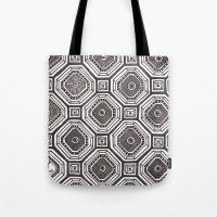 Textile 8 Tote Bag