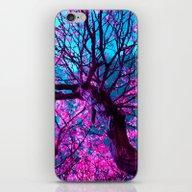 Purple Tree XII iPhone & iPod Skin