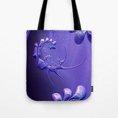 The Scorpion Blue Tote Bag