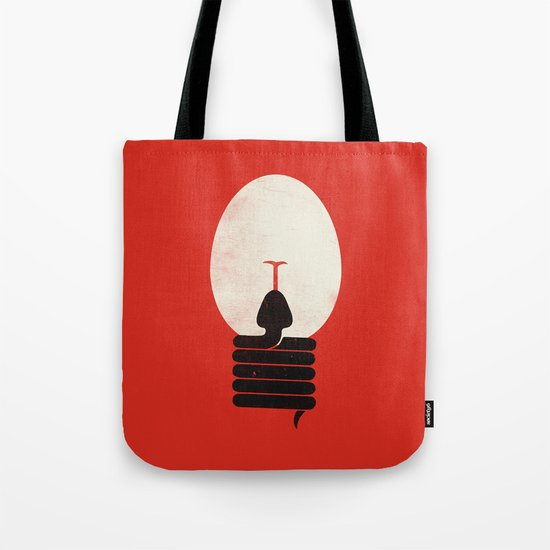 The Idea Eater Tote Bag