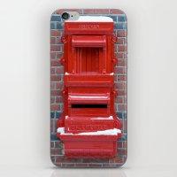Red Dutch Mailbox iPhone & iPod Skin