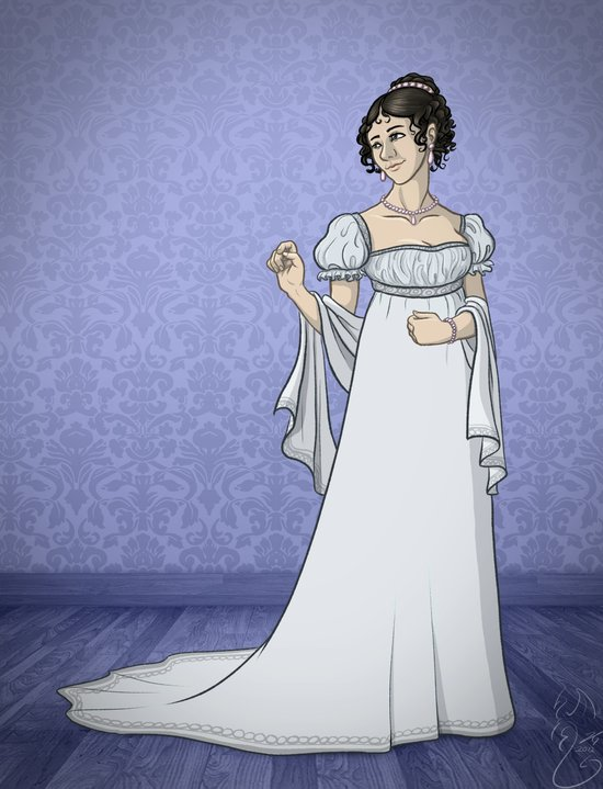 Historical Dress - 1803 Art Print