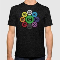Living In Colour Mens Fitted Tee Tri-Black SMALL