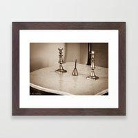 General Lee's Desk Framed Art Print