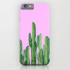 cactus 4 pink iPhone 6 Slim Case