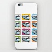 Gothenburg tramway iPhone & iPod Skin