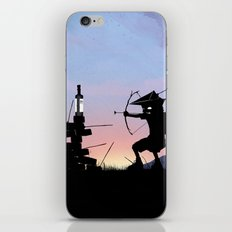 Green Arrow Kid iPhone & iPod Skin