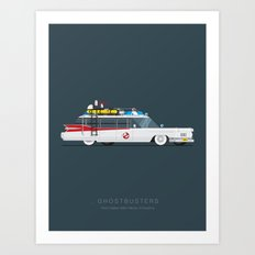 Ghostbusters  | Famous C… Art Print
