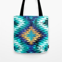 Inverted Navajo Suns Tote Bag