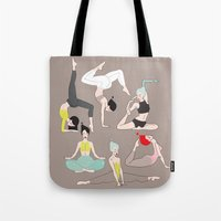 yogis collection2 Tote Bag