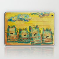 Singing Cats Laptop & iPad Skin