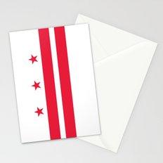 Washington D.C Flag Stationery Cards