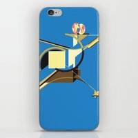 Space Ship iPhone & iPod Skin