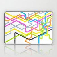 Neon 90s Metro Laptop & iPad Skin