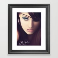 Sworn Framed Art Print