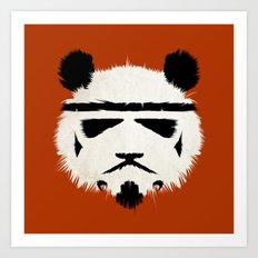 Panda Trooper Art Print