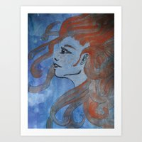 Doused In Flame Art Print