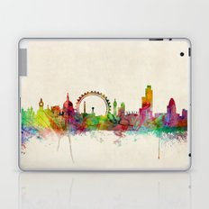 London Skyline Watercolor Laptop & iPad Skin