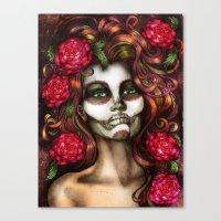 Victoria Rose Canvas Print