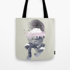 Contemplating Dome Tote Bag