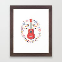 Sing A Song For Me Framed Art Print