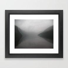 Nature's Shroud Framed Art Print