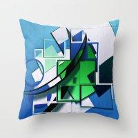 Digitalart 2 Throw Pillow
