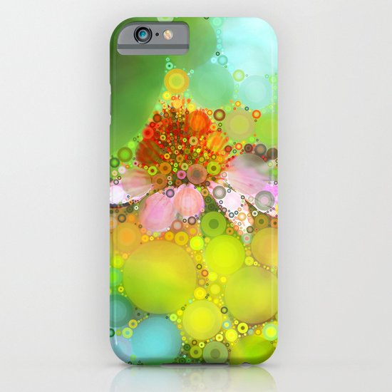 Pink Flower of Summer iPhone & iPod Case