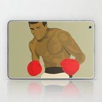 Cool image of a boxer Laptop & iPad Skin