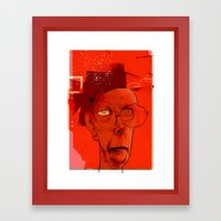 claes oldenburg today... Framed Art Print