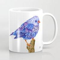 Flowerly Serene Sophia. Purple Edition Mug