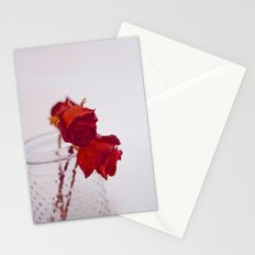 red rose. Stationery Cards
