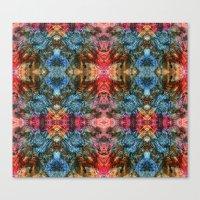 Oil Pastel Pattern Canvas Print