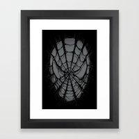 SpiderWeb Framed Art Print