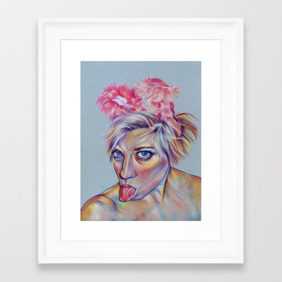 Bun Bun Framed Art Print