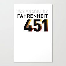 Fahrenheit 451 Canvas Print