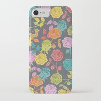 roses iPhone & iPod Cases featuring ROSES by Bianca Green