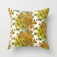 The Great Barrier Reef Throw Pillow