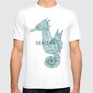 T-shirt featuring Cyan Seadra by Pkarnold